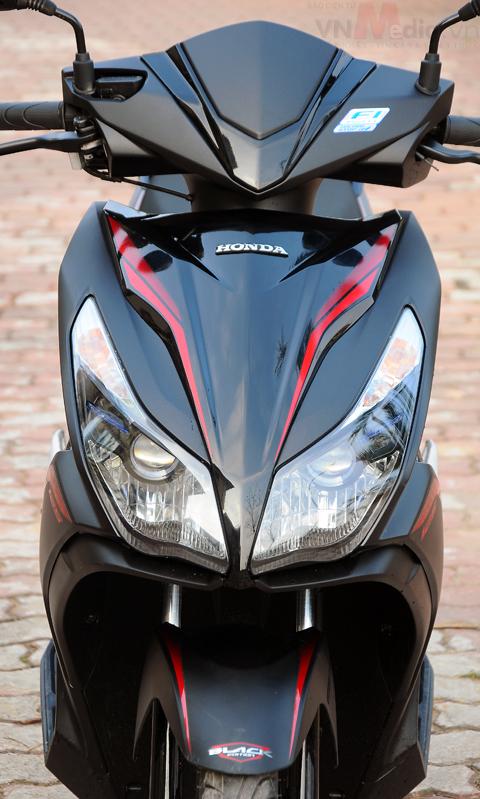 Honda tung mẫu air blade đen mờ 40 triệu - 4
