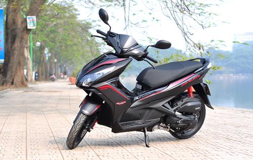 Honda tung mẫu air blade đen mờ 40 triệu - 1