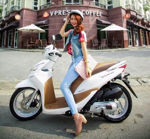 Honda vision 2015 thời trang hơn thanh lịch hơn - 1