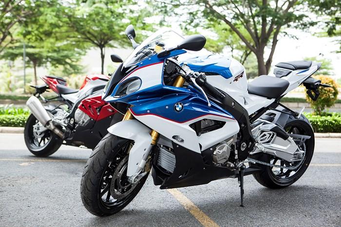 Siêu môtô bmw s1000rr 2015 về việt nam có giá hơn 700 triệu - 1