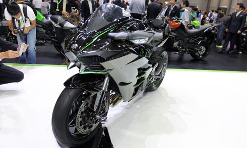 Kawasaki ninja h2 đã chính thức cập bến việt nam - 2