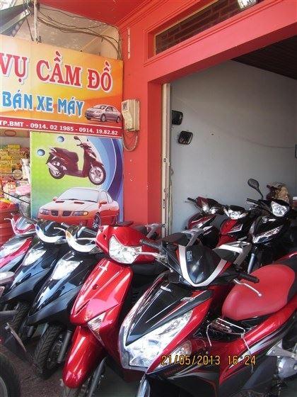 Cẩn thận khi mua xe máy cũ ở tiệm cầm đồ - 2