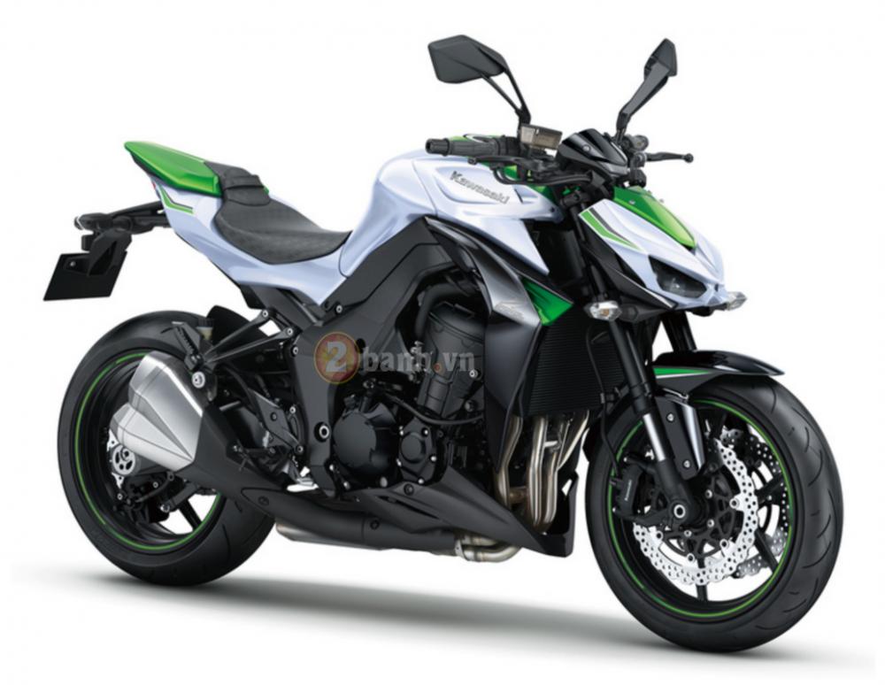 Kawasaki z1000 phiên bản 2016 sắp được ra mắt - 1