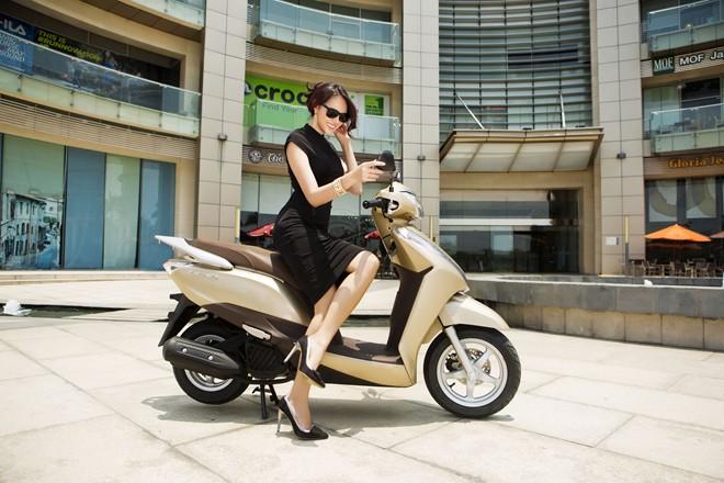 Những mẫu xe tay ga tiết kiệm xăng nhất hiện nay dành cho nữ - 1