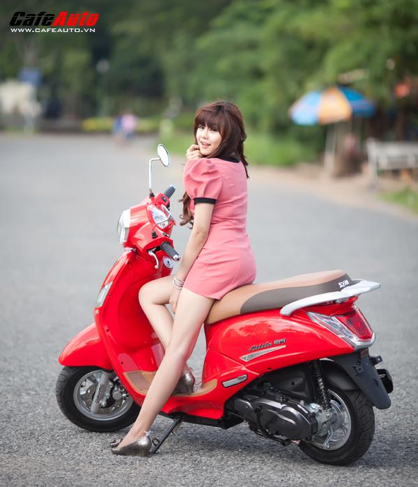 Những mẫu xe tay ga tiết kiệm xăng nhất hiện nay dành cho nữ - 6