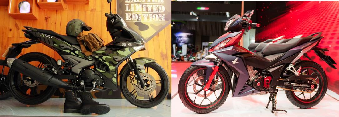Nên mua xe Honda Winner 150 hay Yamaha Exciter 150?