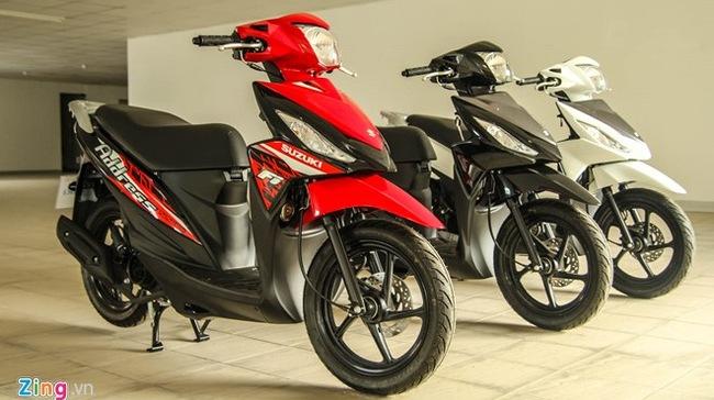 Nên chọn mua xe Suzuki Address, Honda Vission hay Yamaha Nozza?